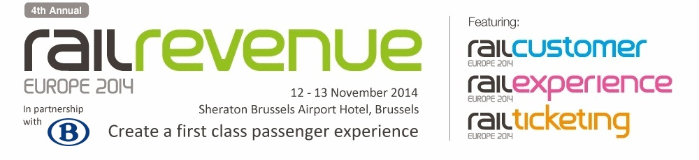 Create a first class passenger experience - Rail Revenue Europe 2014