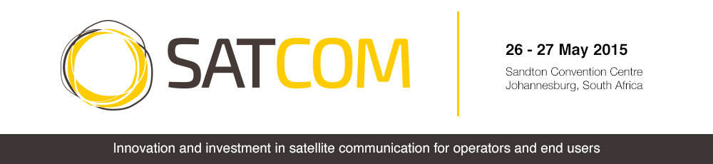 Innovation and investment in satellite communication for operators and end users - Satcom Africa 2015