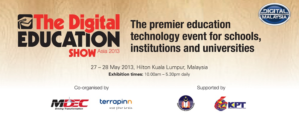 Technology innovation and implementation for schools, universities, government and partners - The Digital Education Show Asia 2013