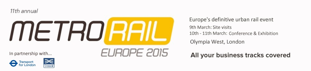 All your business tracks covered - MetroRail 2015