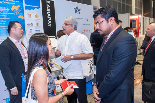 Networking at Aviation Festival Asia