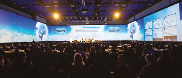 Conference at Aviation Festival Asia
