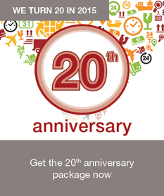 Cards & Payments Asia turns 20 in 2015! Find out more about our special package for exhibitors and sponsors