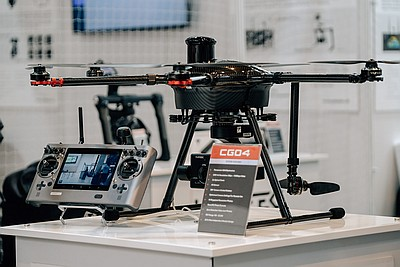 The Commercial UAV Show Exhibition Photo