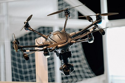 The Commercial UAV Show 2016 Demo Zone Photo