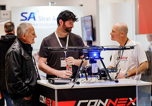 The Commercial UAV Show Exhibition