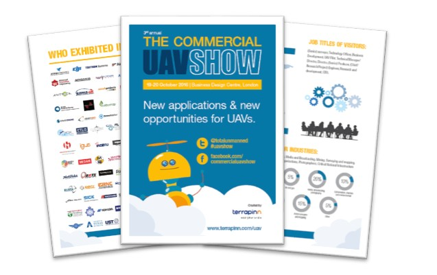 The Commercial UAV Show Brochure