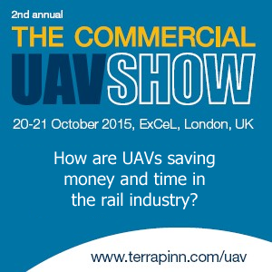 The Commercial UAV Show Europe website link