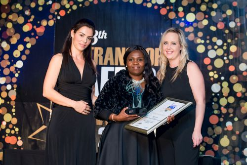 Patricia Norris- winner of transport leader of the year